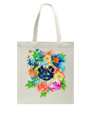 ColoryLIFE - Love your pugs Tote Bag thumbnail