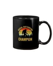 Social Distancing Champion Funny Bigfoot T Shirt Mug thumbnail