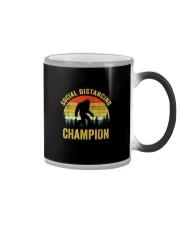 Social Distancing Champion Funny Bigfoot T Shirt Color Changing Mug thumbnail