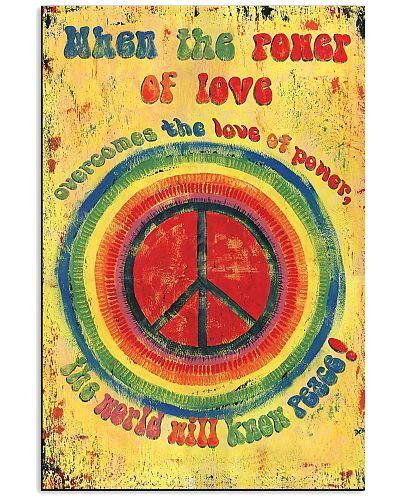 Art Hippie Poster