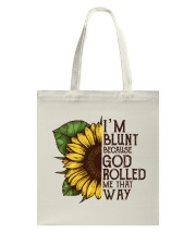 Sunflower Hippie Tote Bag Tote Bag front