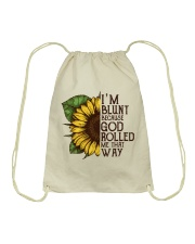 Sunflower Hippie Tote Bag Drawstring Bag thumbnail