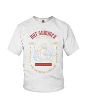 The shark on the ocean Youth T-Shirt thumbnail