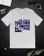 One World Together At Home T Shirt Classic T-Shirt lifestyle-mens-crewneck-front-16