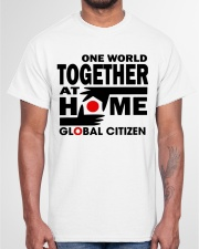 One World Together At Home Shirts Classic T-Shirt garment-tshirt-unisex-front-03