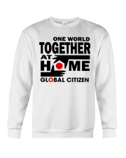 One World Together At Home Shirts Crewneck Sweatshirt thumbnail