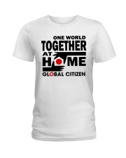 One World Together At Home Shirts Ladies T-Shirt thumbnail