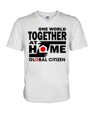 One World Together At Home Shirts V-Neck T-Shirt thumbnail