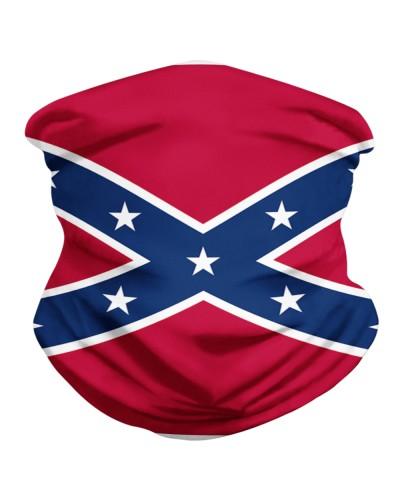 Dale Zorn Confederate Flag Face Mask