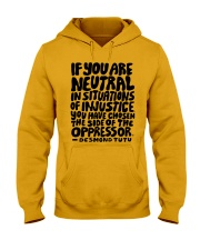 If You Are Neutral Hooded Sweatshirt thumbnail