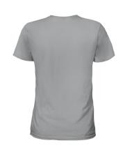 America-skull usa flag t shirt Ladies T-Shirt back