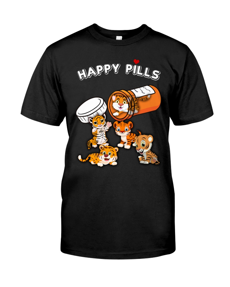happy pills tiger Classic T-Shirt