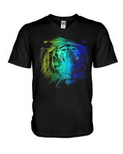 TIGER PATRONUS V-Neck T-Shirt thumbnail