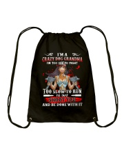 I'm A Crazy Dog Grandma - v2 Drawstring Bag thumbnail