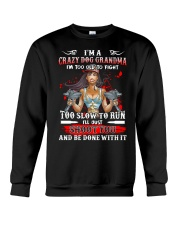 I'm A Crazy Dog Grandma - v2 Crewneck Sweatshirt thumbnail