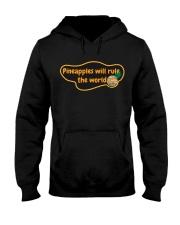 Pineapples will rule the world Hooded Sweatshirt thumbnail