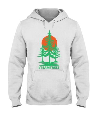 team trees hoodie
