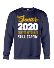 Seniors 2020 Delayed Not Denied Crewneck Sweatshirt thumbnail