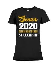 Seniors 2020 Delayed Not Denied Premium Fit Ladies Tee thumbnail