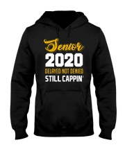 Seniors 2020 Delayed Not Denied Hooded Sweatshirt thumbnail