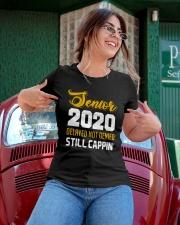 Seniors 2020 Delayed Not Denied Ladies T-Shirt apparel-ladies-t-shirt-lifestyle-01