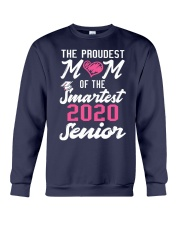 The Proudest Mom of the Smartest 2020 Senior Crewneck Sweatshirt thumbnail
