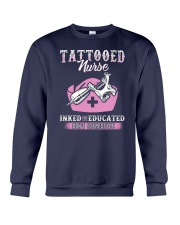 Tattooed Nurse Crewneck Sweatshirt thumbnail