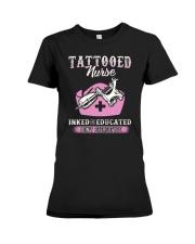 Tattooed Nurse Premium Fit Ladies Tee thumbnail