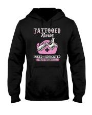 Tattooed Nurse Hooded Sweatshirt thumbnail