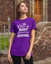 Quarantined Seniors Class of 2020 Classic T-Shirt apparel-classic-tshirt-lifestyle-06