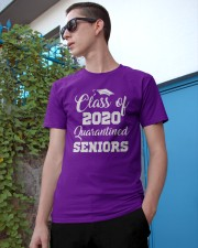 Quarantined Seniors Class of 2020 Classic T-Shirt apparel-classic-tshirt-lifestyle-17