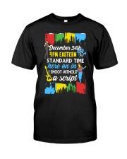 December 24th Sweatshirt Classic T-Shirt front