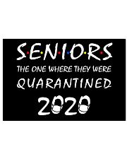 Seniors Class of 2020 Horizontal Poster tile
