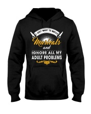 I Just Want To Watch Musicals Hooded Sweatshirt thumbnail