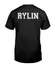 Proud Mom of a 2020 Senior Rylin Classic T-Shirt back