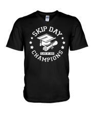 Skip Day Champions Class of 2020 V-Neck T-Shirt thumbnail