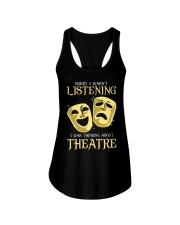 I Was Thinking About Theatre Ladies Flowy Tank thumbnail