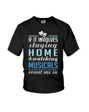 Theatre Nerd Quarantine Plan Youth T-Shirt thumbnail