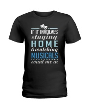 Theatre Nerd Quarantine Plan Ladies T-Shirt thumbnail