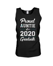 Proud Auntie of a 2020 Graduate Unisex Tank thumbnail