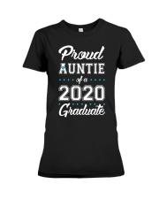 Proud Auntie of a 2020 Graduate Premium Fit Ladies Tee thumbnail