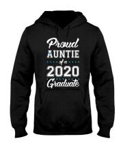Proud Auntie of a 2020 Graduate Hooded Sweatshirt thumbnail