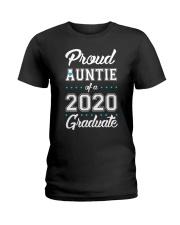 Proud Auntie of a 2020 Graduate Ladies T-Shirt thumbnail