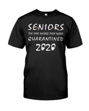 Seniors The One Where They Were Quarantined 2020 Classic T-Shirt thumbnail