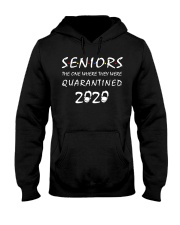 Seniors The One Where They Were Quarantined 2020 Hooded Sweatshirt thumbnail