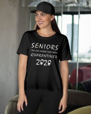 Seniors The One Where They Were Quarantined 2020 Ladies T-Shirt apparel-ladies-t-shirt-lifestyle-front-07
