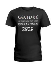 Seniors The One Where They Were Quarantined 2020 Ladies T-Shirt front