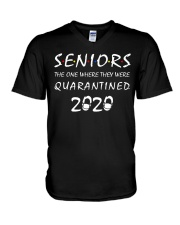 Seniors The One Where They Were Quarantined 2020 V-Neck T-Shirt thumbnail