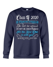 FRONT PRINT Class of 2020 Stay Strong Crewneck Sweatshirt thumbnail