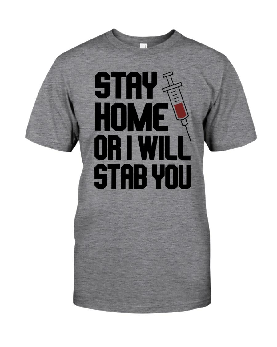 Stay Home V2 Classic T-Shirt